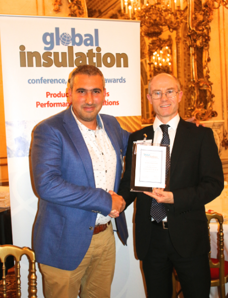 Davide Global Insulation award.png